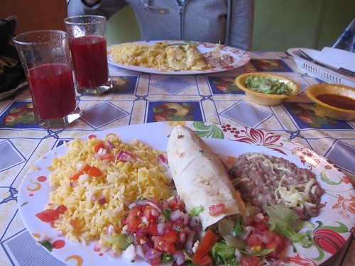 Mexican Food at Taco Bello Otavalo