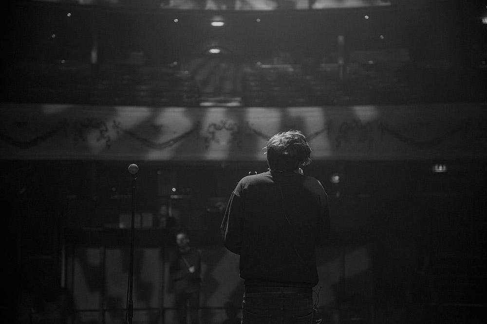 BTS: Freddie Dickson
