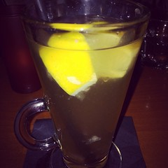 Just what the Dr. ordered a Hot Toddy at #LunaRed