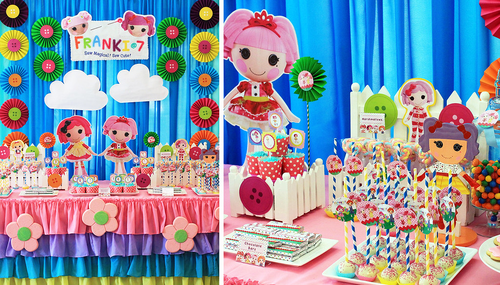 Lalaloopsy Dessert and Candy Buffet