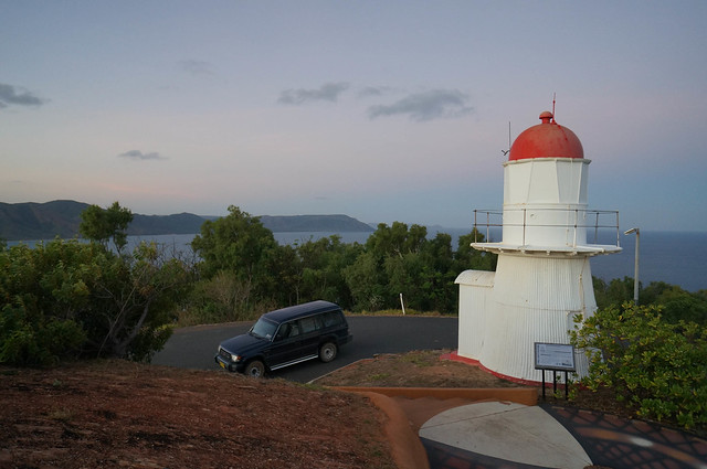 Lighthouse and Car