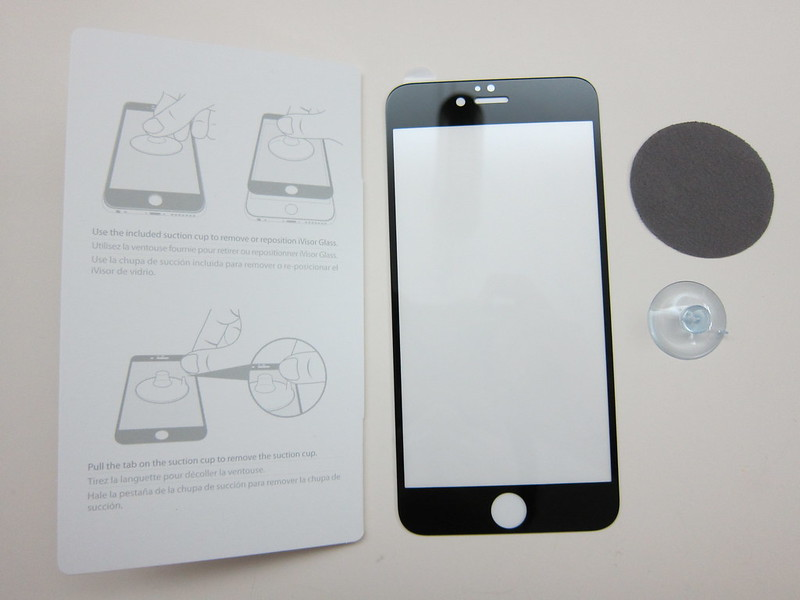 Moshi iVisor Glass Screen Protector for iPhone 6 Plus - Box Contents