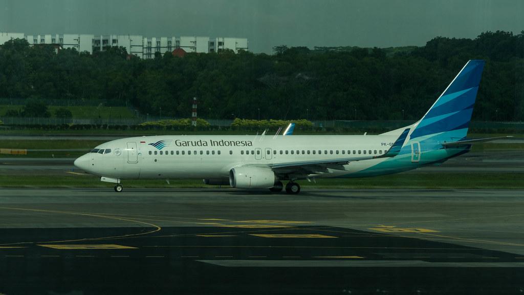 PK-GNK - B738 - Garuda Indonesia
