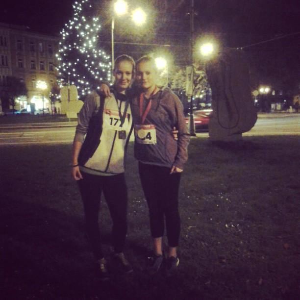 CHRISTMAS NIGHT RUN HRADEC KRÁLOVÉ-Vánoční běh bez sněhu..:)