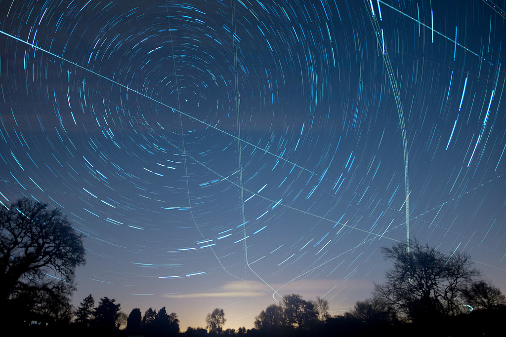 Startrails Wideangle