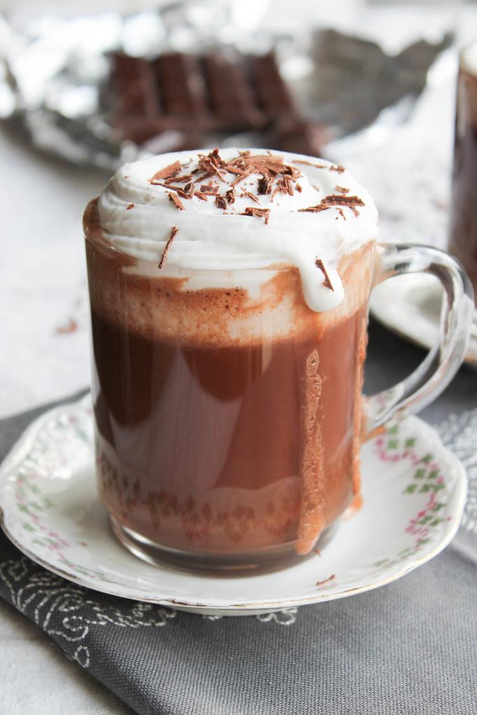 Recette de chocolat Liégeois