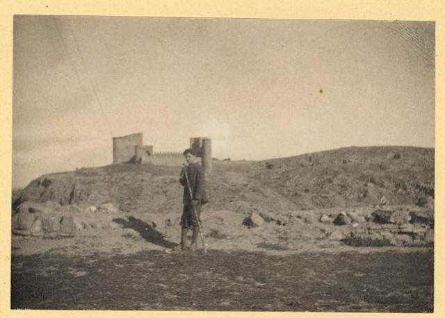 Joaquín Sorolla en Toledo en el otoño de 1906. Álbum familiar © Museo Sorolla, MECD