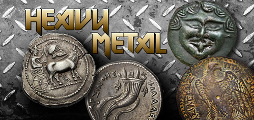 heavy metal biggest ancient coins