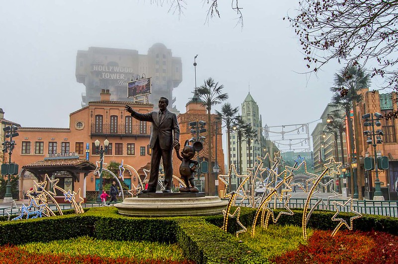 Walt Disney Studios Park Christmas Decorations