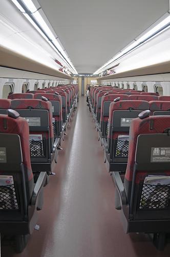Shinkansen e7 Seats 1