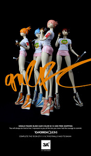 threeA –  POPBOT【GIRL RC】TOMORROW QUEENS 搖滾來襲