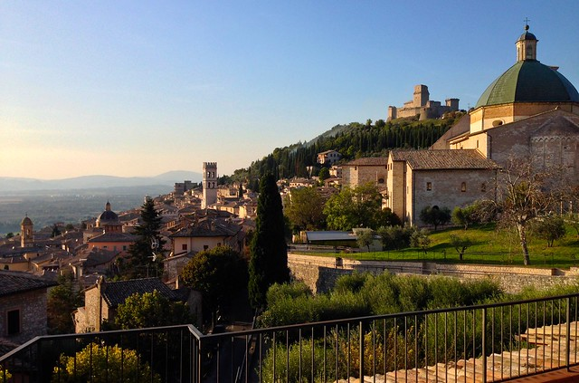 what is photo stream on my iphone view of assisi from the terrace of the hotel ideale by 1261