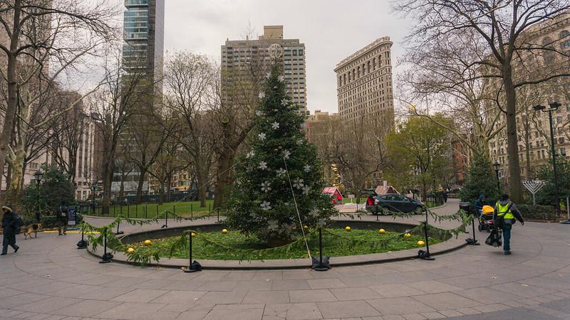 Madison Square Park, December, 2014