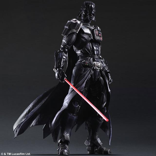 我的黑武士哪有那麼帥?!《星際大戰》 變體版「達斯‧維德」