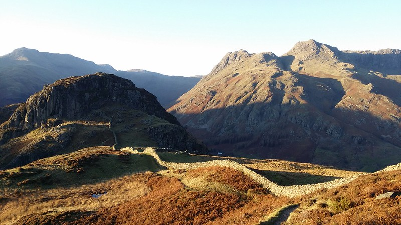 Side Pike and the Langdale Pikes #sh