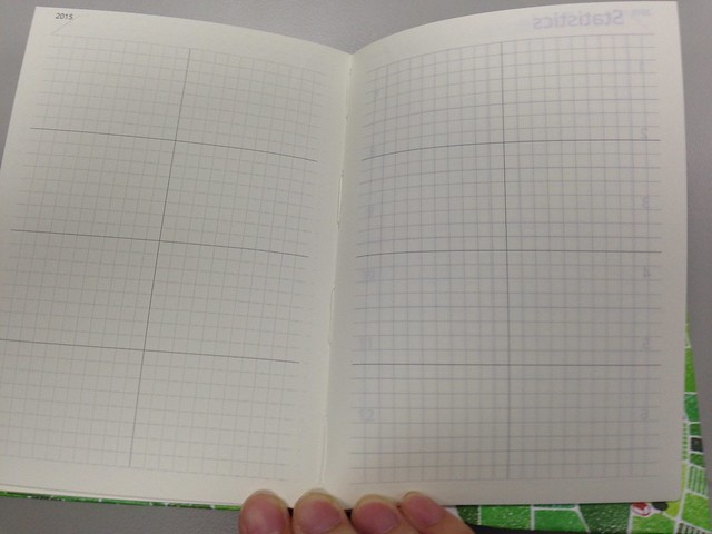 空白表格頁@[文具/開箱] 集日美工 2015 手帳