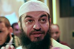 Sjeik Haitham al-Haddad, omstreden moslim- en Shariageleerde op bezoek bij NTR programma De Halve Maan