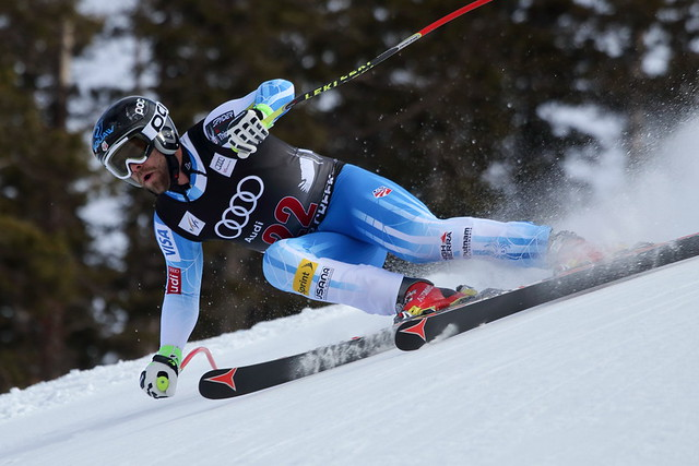 Travis Ganong at Beaver Creek downhill 2014