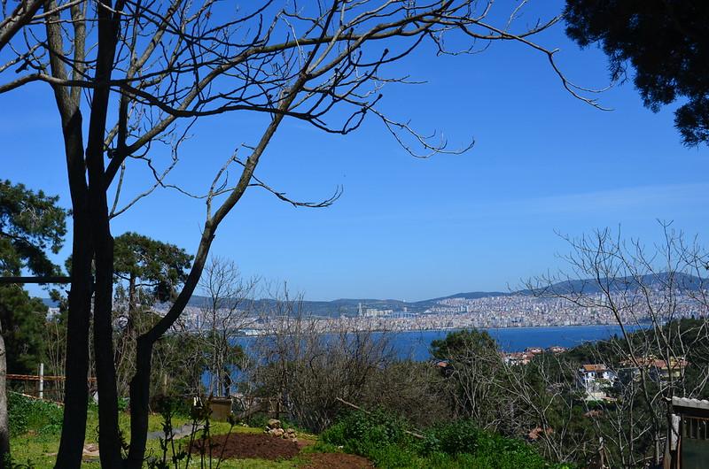 Blick auf die asiatischen Stadtteile Istanbuls
