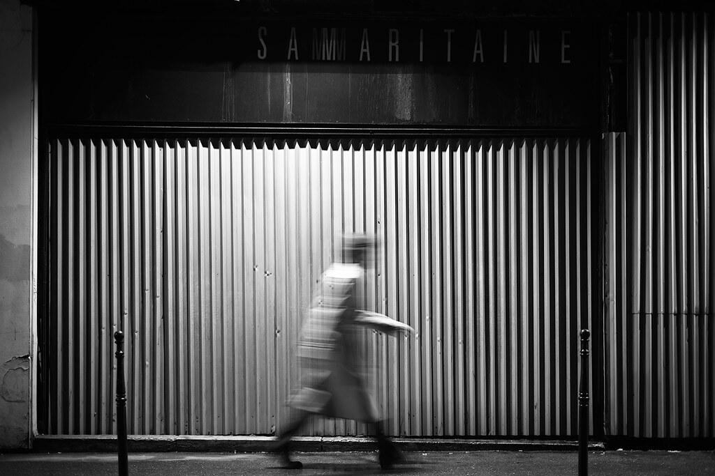 Série noire Samaritaine