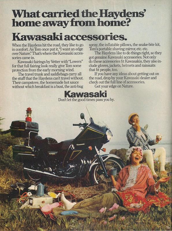 Kawasaki Accessories
