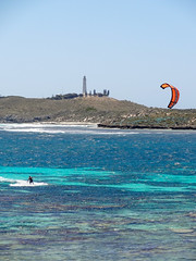 Rottnest - kite surfer I