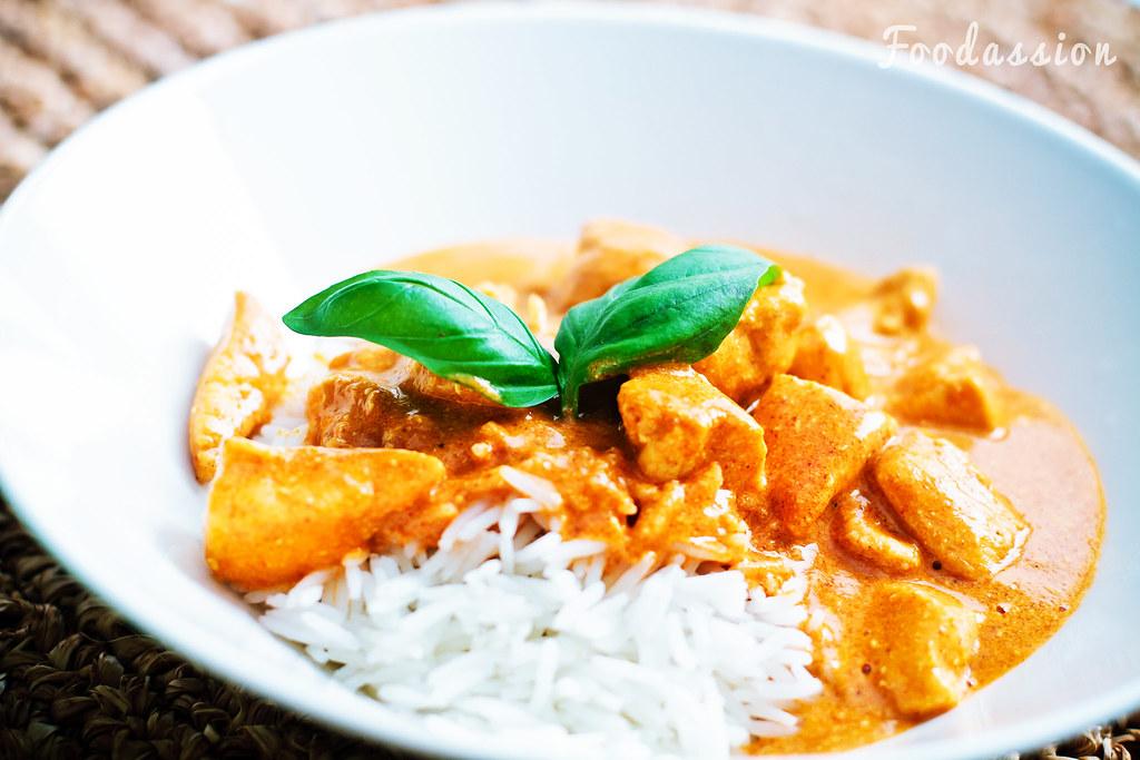 Tandoorikana riisillä