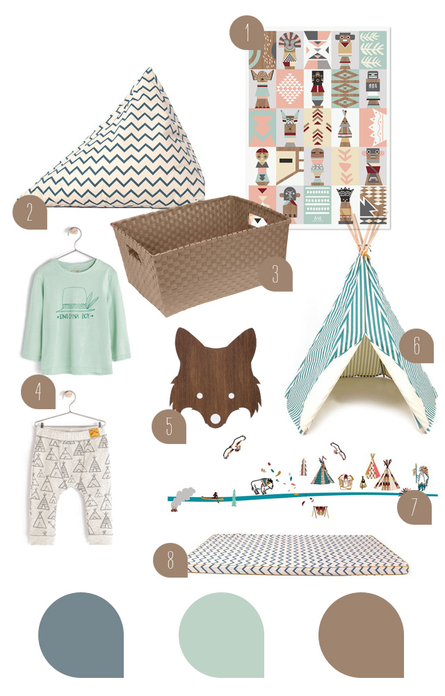blog love // sanvie mini - little indians kids room inspiration