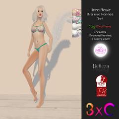 3xC Hera Bra and Panties Vendor
