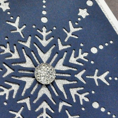 Twinkle Snowflake Close