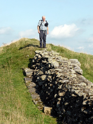 Mark Richards and Hadrian's Wall