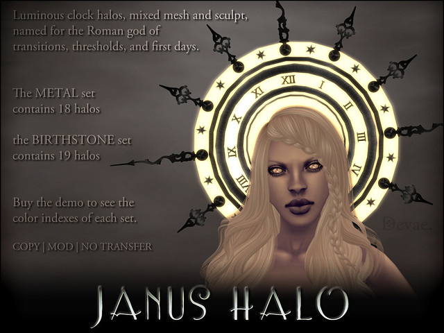 Devae. Frills/Janus Halo