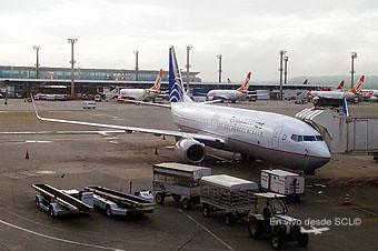 COPA Airlines B737-800 y GOL en GRU (RD)