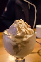ice cream, whipped cream, sundae, produce, food, dish, dairy product, affogato, dessert, cream,