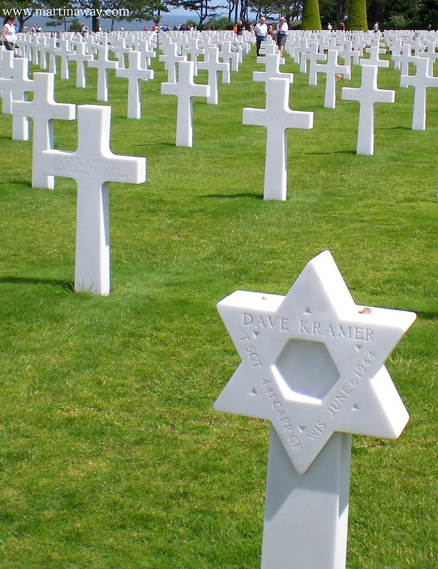 Normandy American Cemetery and Memorial.