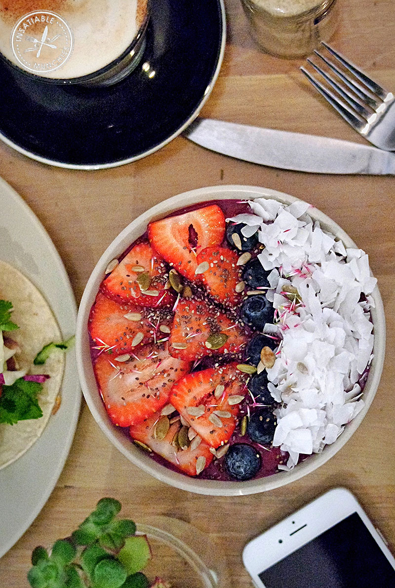 Berry Beet Acai Bowl, $16