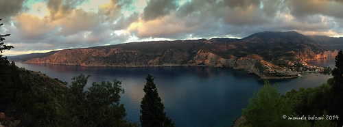 Assos at sunset