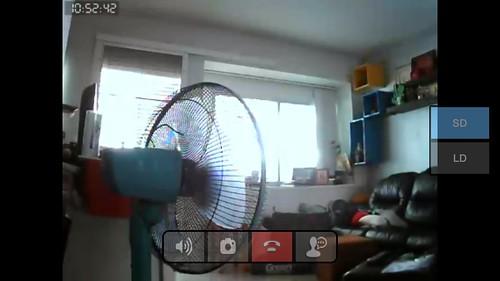 ภาพจากกล้อง Assist Guard ดูแบบ SD ผ่านเครือข่าย 3G