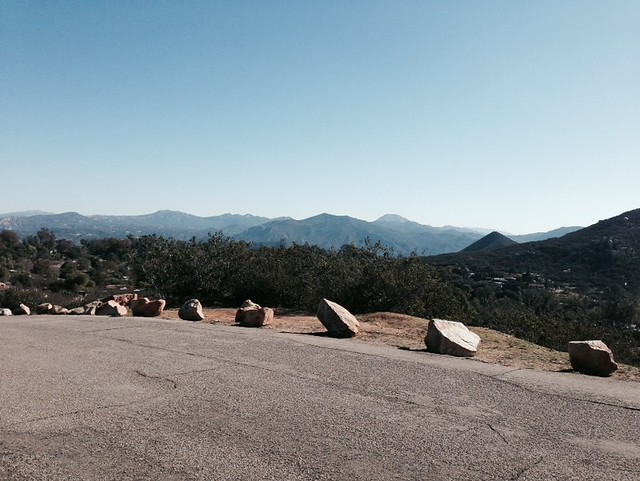 New Year's Ride To Crest, CA Via Granite Hills And Back