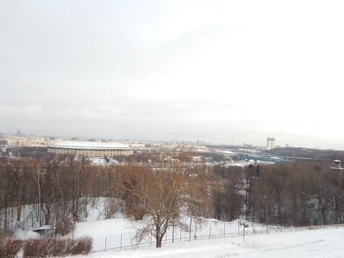 Москва со смотровой площадки | ХорошоГромко.ру