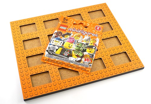 Baseboard for LEGO Minifigures 07