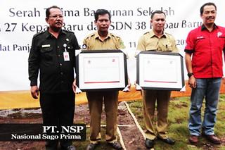 Pemberian Amal PT NSP untuk Meranti