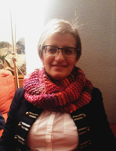 Rosa & her infinity scarf