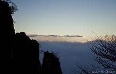 Sierra del Aramo por encima del mar de nubes