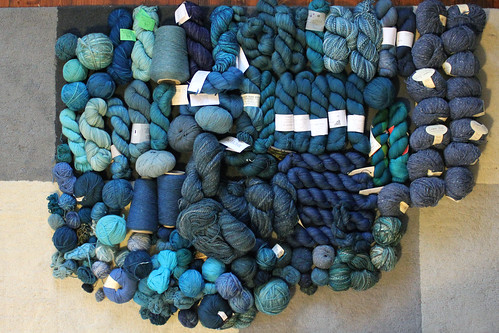 All the blue yarn 2015