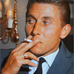 Jacques Anqetuil smoking
