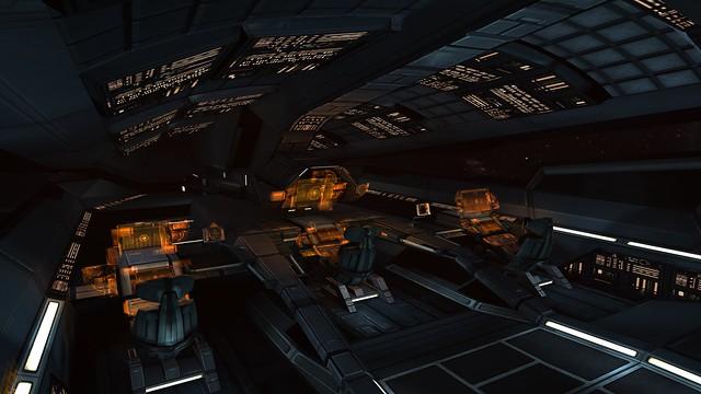 Mass Effect 1 SSV Normandy Pilot Control Room