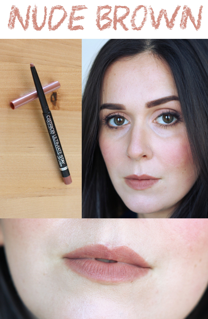 catrice ultimate stay lip liner holly rosewood review and swatch