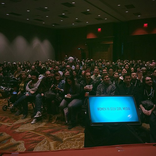 THANK YOU for the full house at our Women in Geek Girl Media panel! ❤️ #PAXSoufSC #PAXSouth