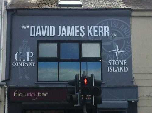 David James Kerr New Sign